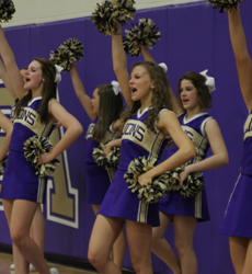 Basketball Cheerleaders header