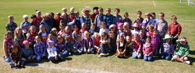 image - 1st grade SCARECROW Day 10-22-10