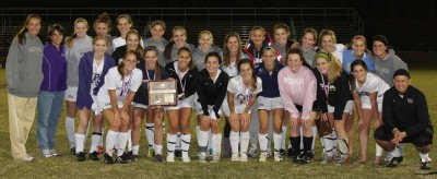 image - HS Girls Soccer District Champions 10-22-10