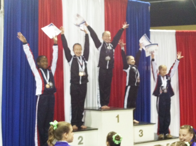 Mia Powell_First Place USA Gymnastics Competition