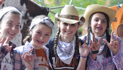 MS students tailgate Texas longhorns