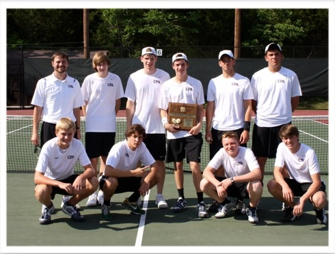 Tennis Boys District Champs 2012
